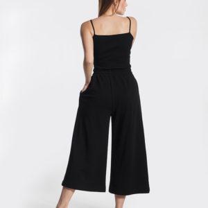 Παντελόνα μαύρη πίσω μέρος