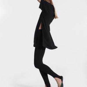 Μπλούζα μαύρη πλάι