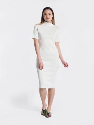 Φόρεμα ζιβάγκο μπροστινή όψη