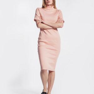 Φόρεμα ροδακινί