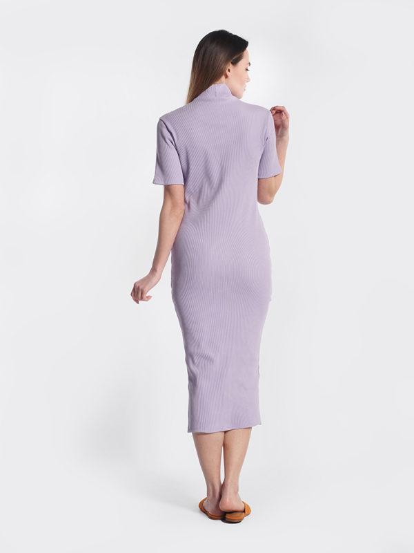 Φόρεμα λιλά πίσω μέρος